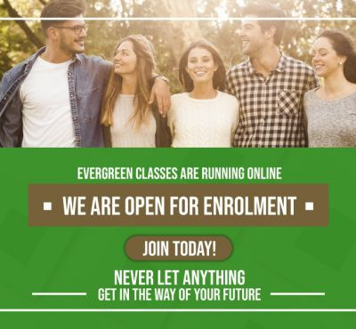 EVERGREEN COLLEGE IS OPEN NOW!!