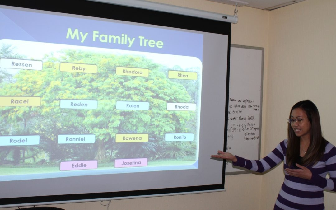 Students focus on their families
