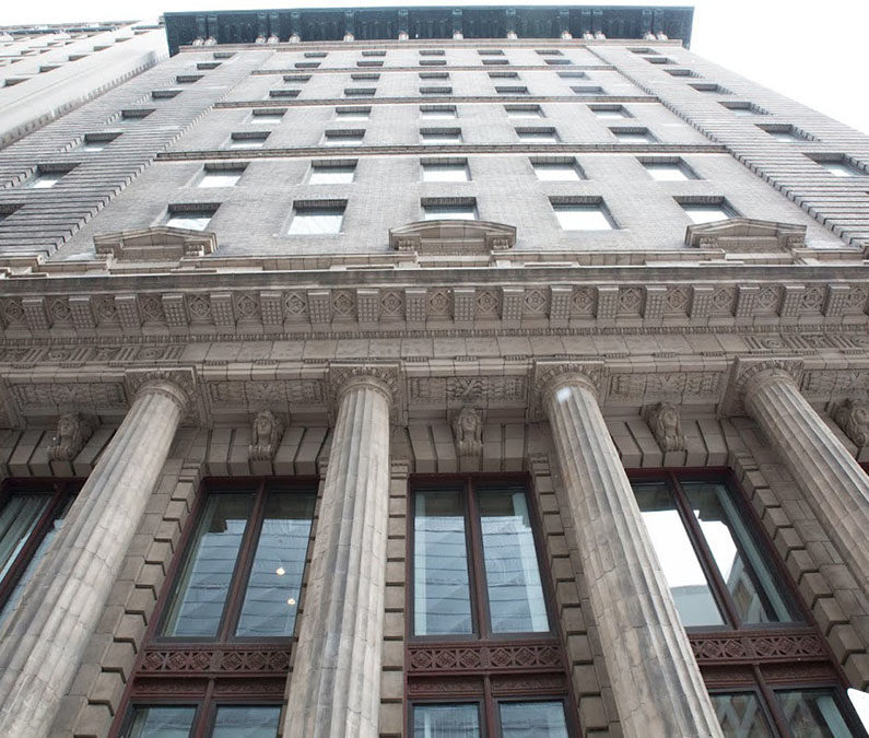 Studying in a historic skyscraper: The Trader's Bank Building